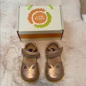 Livie & Luca shimmer shoes